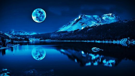 Super-Moon-Blue-Wallpaper